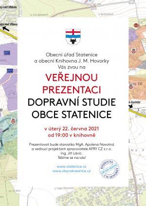 Veřejná prezentace dopravní studie 1